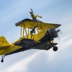 Grumman G-164 AG-Cat & Scandinavian Airshow Wingwalking